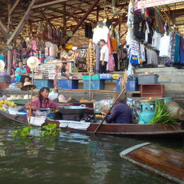 Photo of Bangkok Floating Markets of Damnoen Saduak Cruise Day Trip from Bangkok Great tour