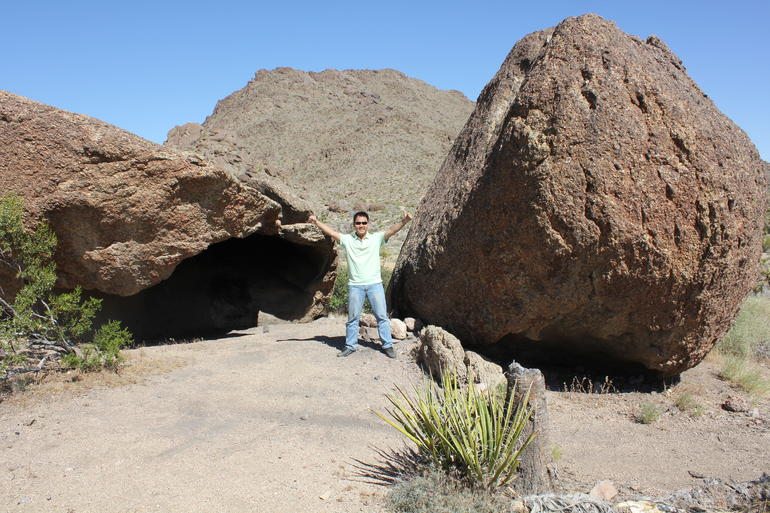 How big are these rocks? - Las Vegas