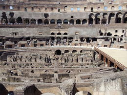 Inside the colloseum , Tom S - July 2011