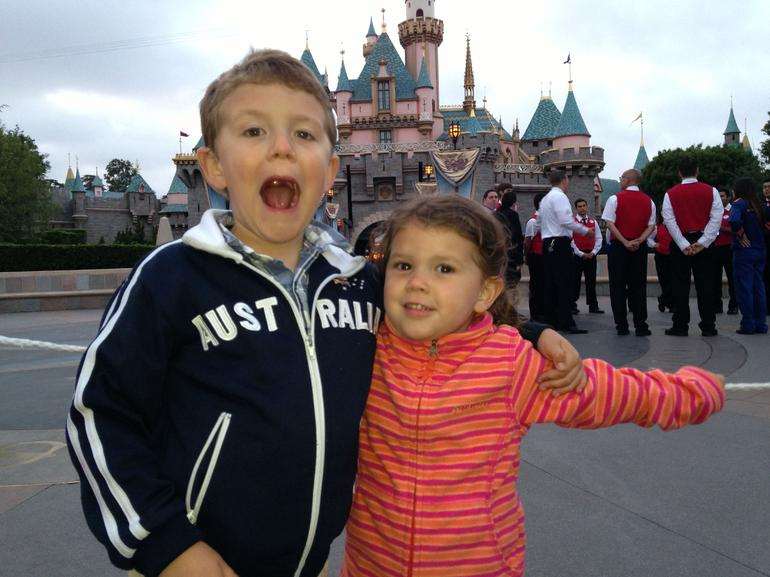 Kids enjoying Disneyland! - Anaheim & Buena Park