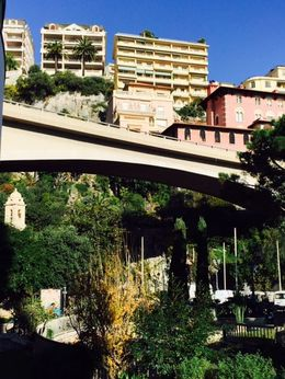 Monaco ... Can you see the church tucked away in an oasis of trees? , Bev Chislett - January 2016