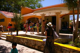 Photo of Cancun Chichen Itza Day Trip from Cancun Outdoor Showers at Cenote Ik Kil (Indoor available too)
