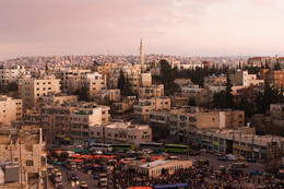 Photo of Amman Private Amman City Sightseeing Tour with Optional Arabic Meza Lunch Street Market in al Abdali, Amman (where you can find meza)