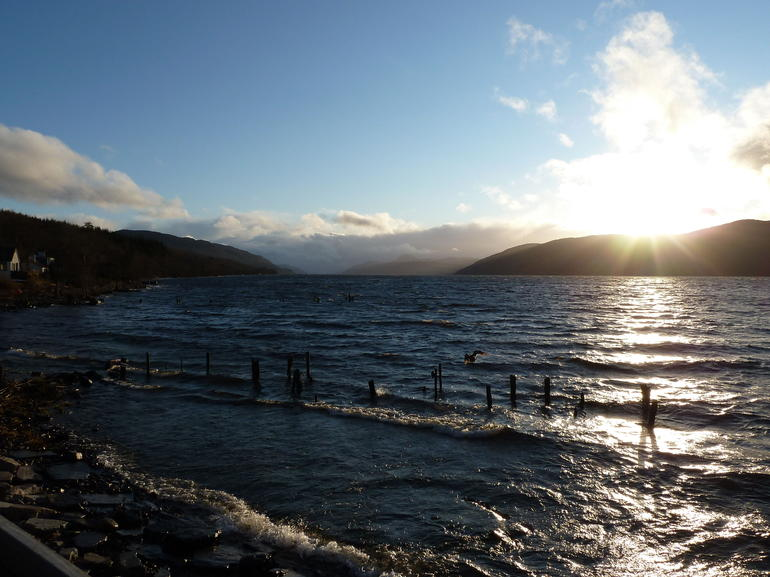 Sunset at Loch Ness - March 2012