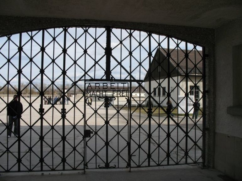 The gates. - Munich