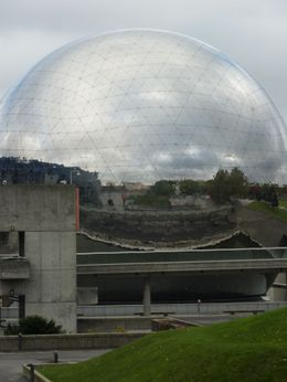 Photo of Paris Seine River Cruise and Paris Canals Tour The Geode, Parc de la Villette