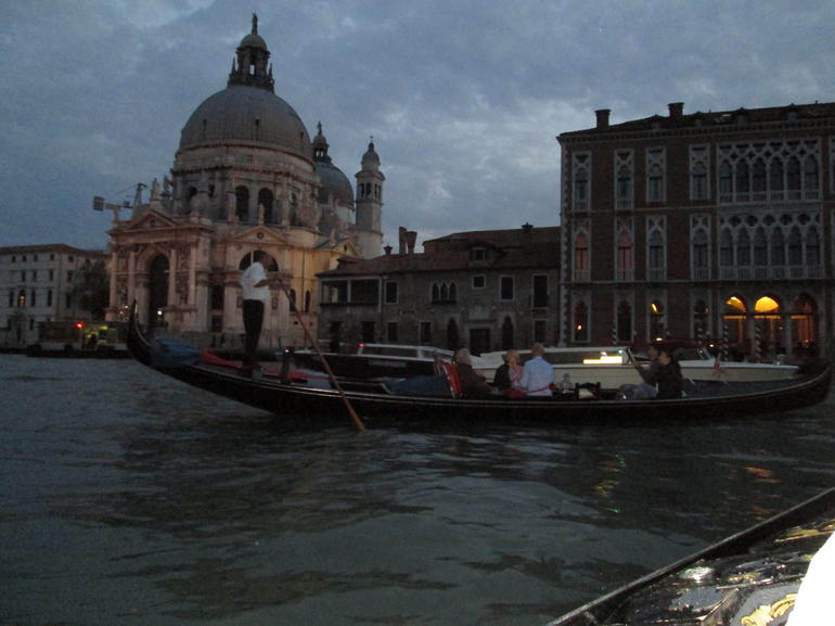 The Grand Canal At Night - Venice