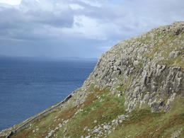 Photo of Edinburgh 3-Day Isle of Skye Small Group Tour from Edinburgh The sea and cliffs