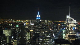 Photo of New York City Top of the Rock Observation Deck, New York Top of the Rock 12/3/10