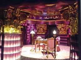 The set for Umbridge's office was very purple...just like in the movies. , Angela F - November 2013