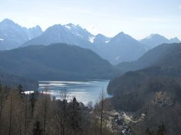 Photo of Munich Royal Castles of Neuschwanstein and Linderhof Day Tour from Munich View of the Alps