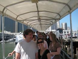 On our way to boat. - April 2008