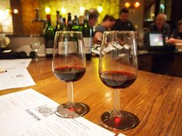2 different reds from Fairview Winery. , Amberly M - October 2015