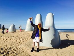 Even in Winter days - it is a great day trip! Beautiful Punta del Este and surroundings! The hand that welcomes guest is a landmark! , Mauricia M - June 2015