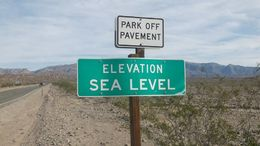 Photo of Las Vegas Death Valley Day Trip from Las Vegas A desert at sea level