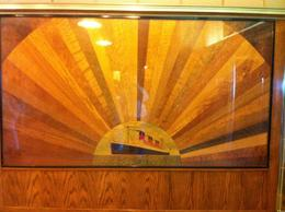 Photo of Long Beach The Queen Mary Artistic Woodwork