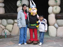 Foto com Asterix., Mohamed R - June 2008