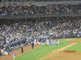 Photo of New York City New York Yankees Baseball Tickets At New York Yankees game on 9/11.