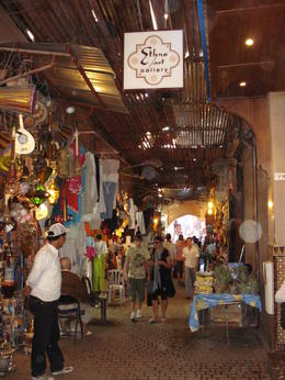 Photo of   Browsing the souks in Marrakech