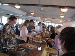 Another picture of the buffet. - April 2008