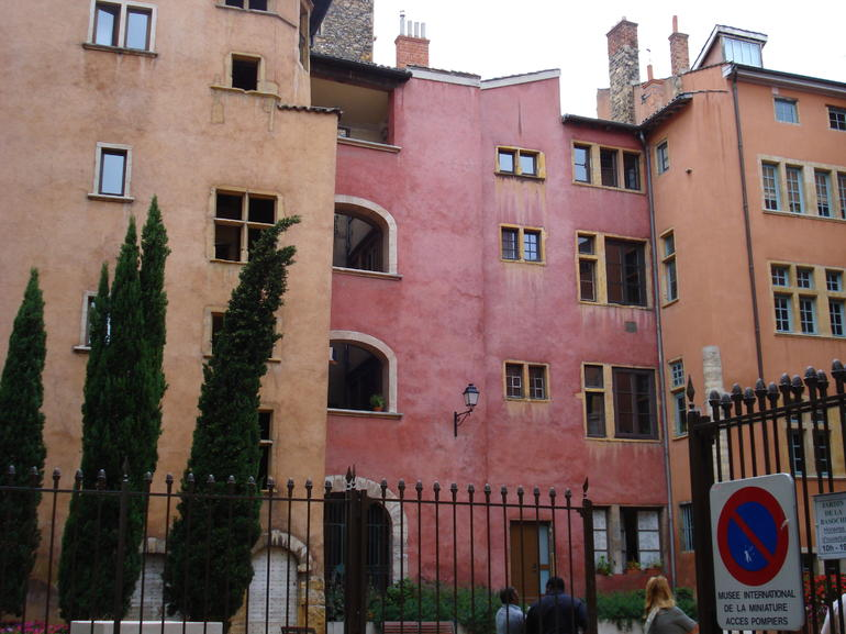 Colorful buildings in Vieux Lyon - Lyon