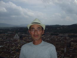 At the top of Duomo in Florence , Tsutomu U - June 2013