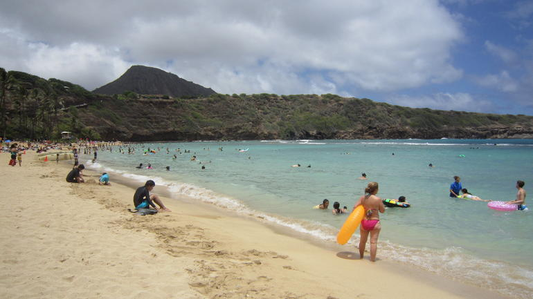 Hanauma Bay beach - Oahu