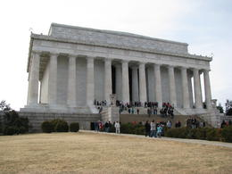 lincoln memorial , Andrew B - March 2011