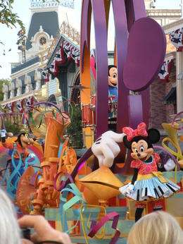 Photo of Los Angeles Disneyland or Disney's California Adventure with Transport from Los Angeles Mickey's Soundsational Parade