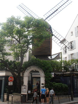 Photo of Paris Montmartre and Sacre Coeur Walking Tour in Paris One of the Windmills