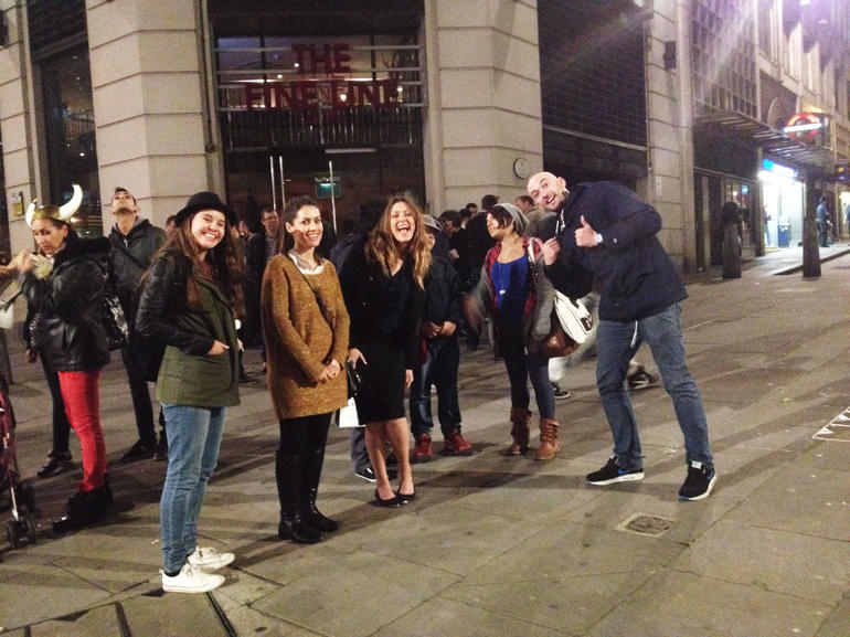 our group - London