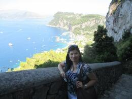 Photo of Rome Capri Day Trip from Rome Panoramic View from the top of Anacapri