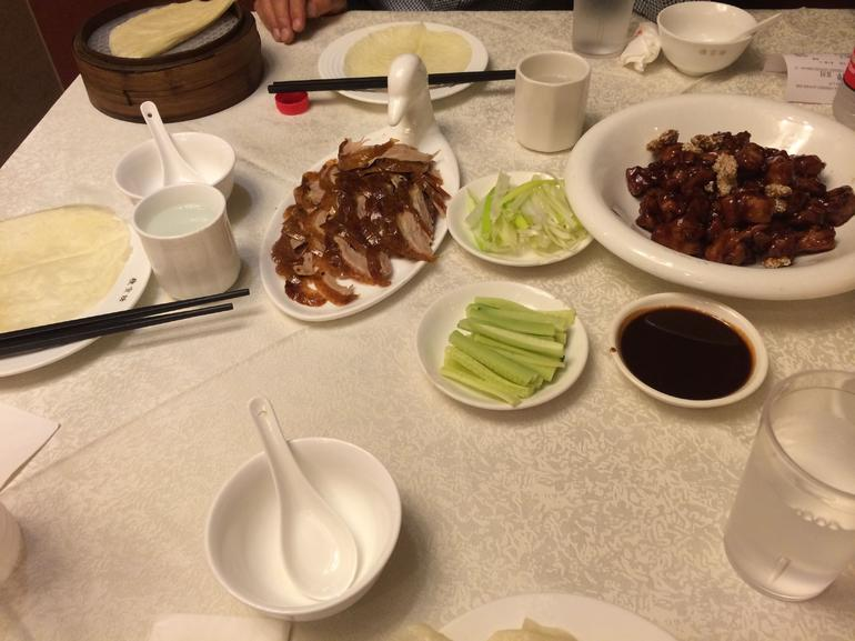 Authentic Peking Duck Dinner in Beijng