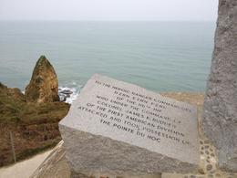 Photo of Paris Normandy D-Day Battlefields and Beaches Day Trip Pointe du Hoc