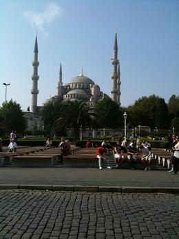 Blue Mosque from in front of Aya Sofya, Theodore F - October 2010