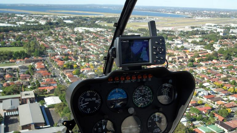 Returning to Airport - Helitours 1 - Sydney
