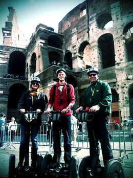 Family trip to Rome. The Segway Tour was our favorite memory! , Mark S - April 2012