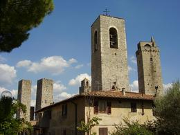 Photo of Florence Siena and San Gimignano Day Trip from Florence San Gimignano Towers