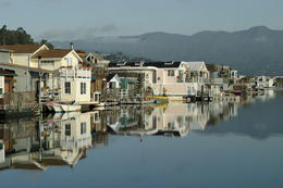 Photo of   Houseboat community, Sausalito