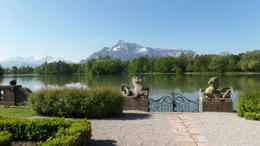 Photo of Salzburg Viator Exclusive: 'The Sound of Music' Private Tour with Breakfast at Schloss Leopoldskron The site of the scene where the children fell into the water