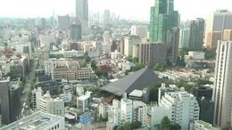 View from the Tokyo Tower - September 2011
