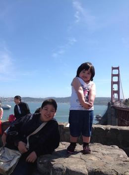Photo of San Francisco San Francisco Deluxe Half-Day City Tour Very happy happy