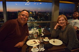 We are sitting in the restaurant on the Tower eating a marvelous meal and meeting great folks. , james.trimble - October 2015