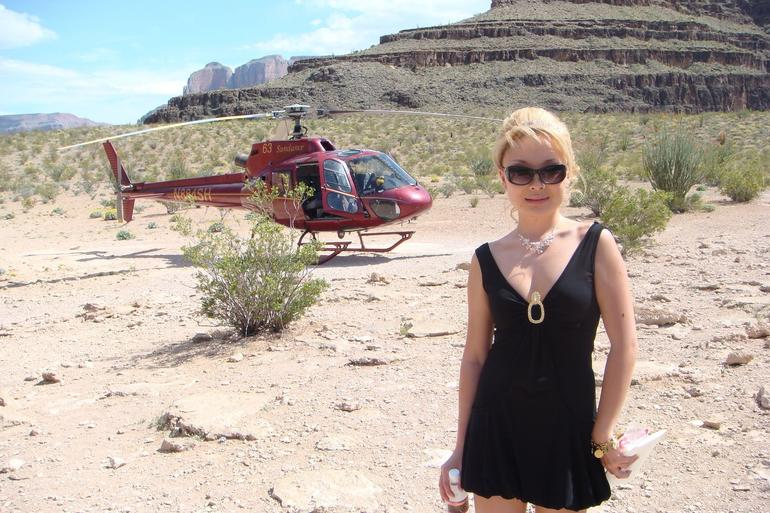 Heli and me - Las Vegas