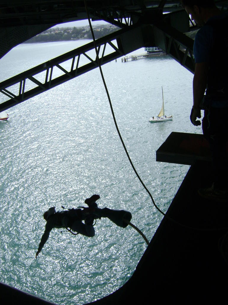 Jumping off the Auckland Bridge! - Auckland