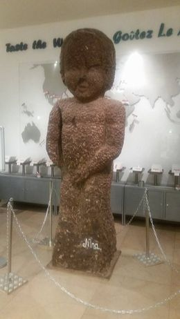 Photo of   Largest chocolate Mannequin pis