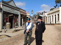 This is the main street through Sovereign Hill. , Kevin F - June 2014