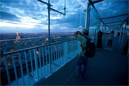 Montparnasse Tower 56th Floor Observation Deck - September 2011