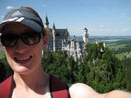 Neuschwanstein from Mariensbruecke, Alison C - July 2010