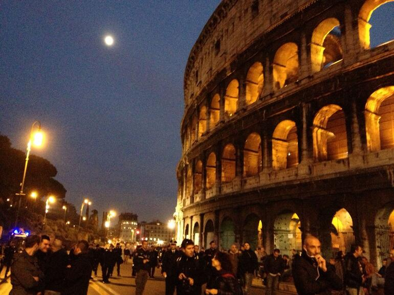 night view ! - Rome